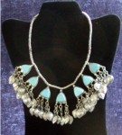 Delicious Tribal Turcoman Turquoise Necklace