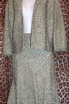 Anne Klein Designer Skirt Suit