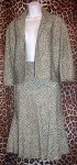 Anne Klein Designer Skirt Suit