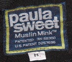 Paula Sweet Muslin Mink Label