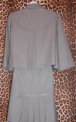 Tahari Designer Skirt Suit, back view