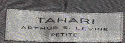 Tahari Label