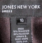 Vintage Jones New York Evening Dress