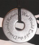 Anti War Quotation Pendant