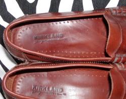 Vintage Brown Kirkland Strap Leather Loafers