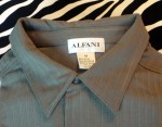Vintage Alfani Jersey Shirt Short Sleeves