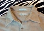 Vintage Alfani Woven Casual Shirt Mens Size XL