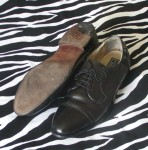 Vintage Bostonian Impression Black Dress Shoes