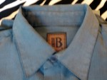 Vintage Bruno Dress Shirt Made In Italy