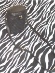 Vintage Valerie Stevens Black Leather Oval Tube Shoulder Bag