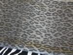 Animal Print Large Shawl