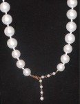Large Estate Pearl Necklace