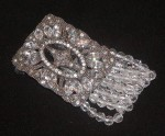 Ornamental Estate Crystal Bracelet