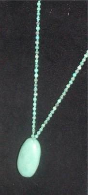 Estate Turquoise Pendant Necklace