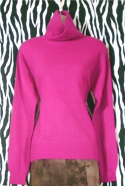Vintage Hot Pink Angora Sweater
