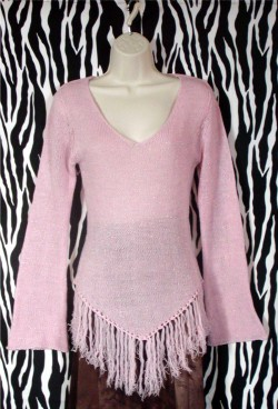 Vintage Rampage Pink Pullover Size M
