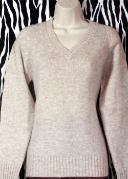 Vintage Wool V-Neck Pullover