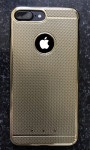 GOLD iPhone 7 Plus Case Gold iPhone 7 Plus Shockproof Silicone Cover